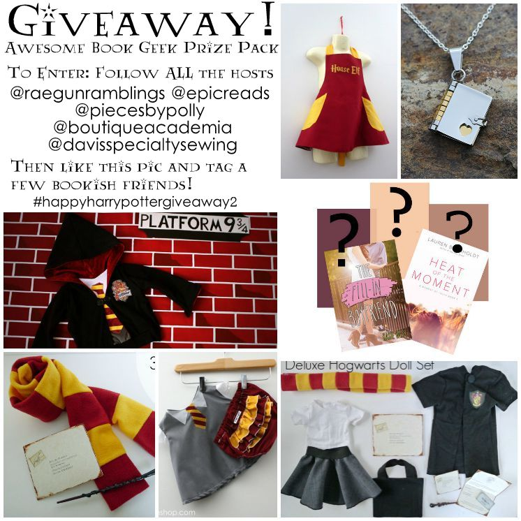 Harry Potter instagram giveaway