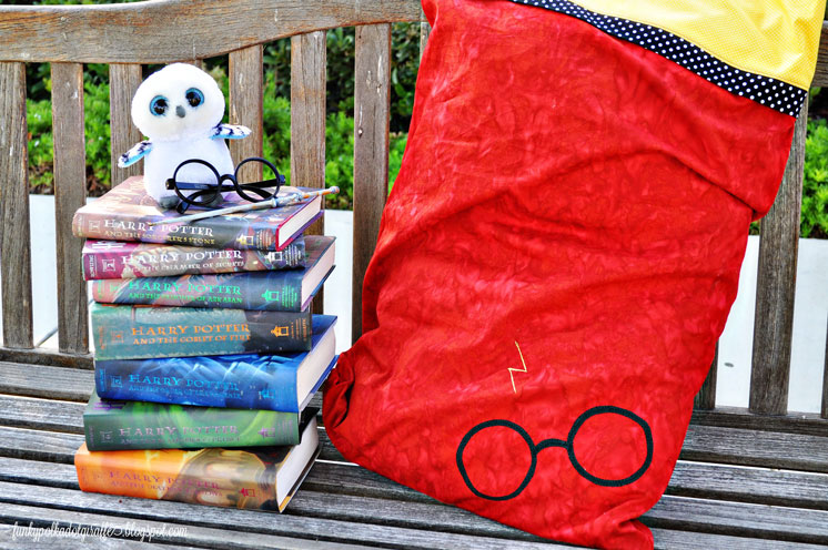 Harry Potter Pillowcase Tutorial