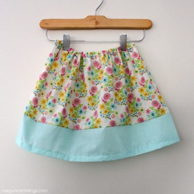 20 Minute Basic Band Skirt Tutorial