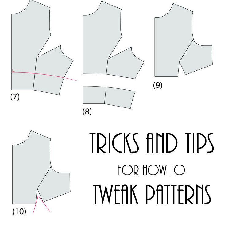 How to Tweak Sewing Patterns - Rae Gun Ramblings