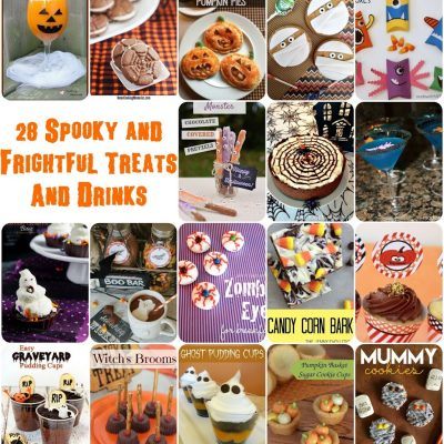 Spooky and Frightful Treats and Block Party
