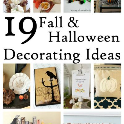Halloween Decorating Ideas and Block Party