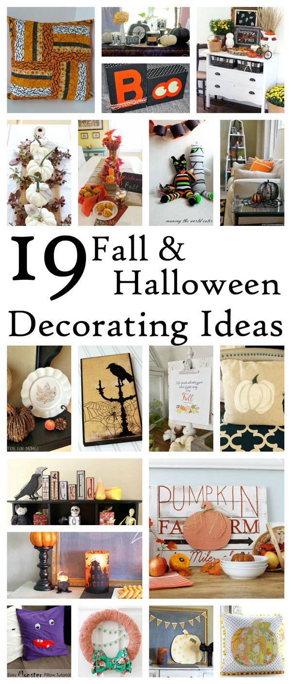 Fall-and-Halloween-Decor great DIY tutorials and ideas