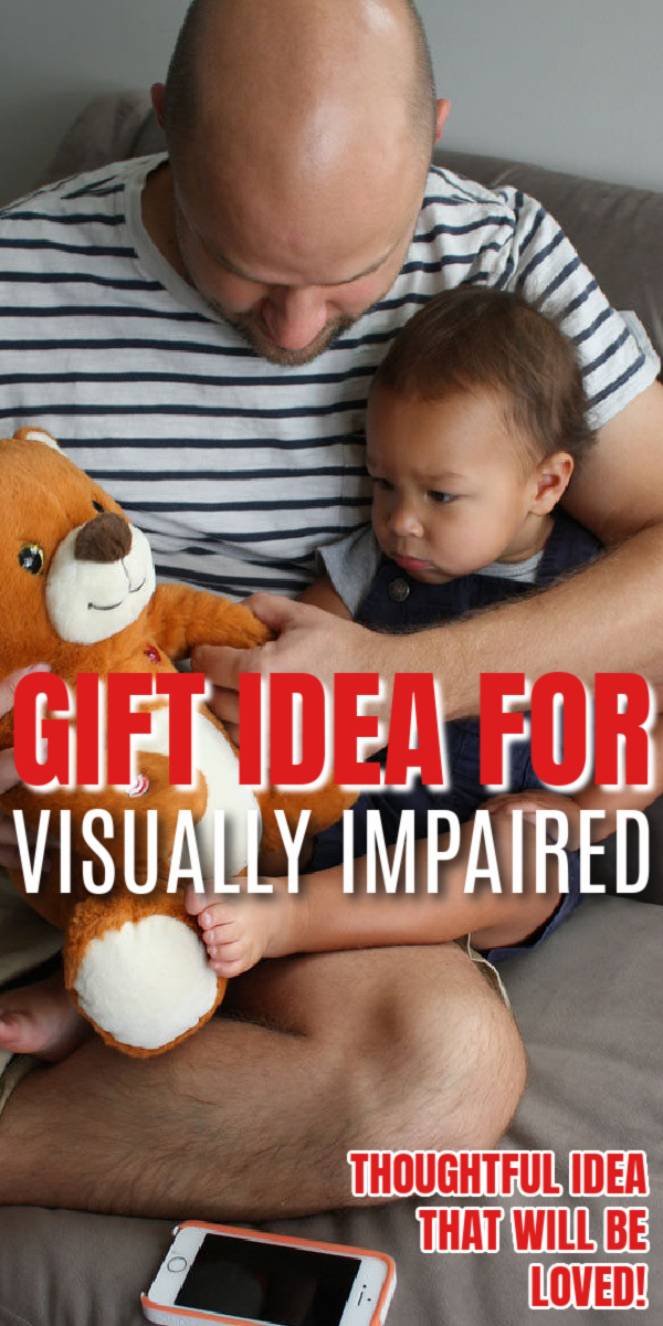 Great suggestion of what to give a blind person for a gift especially grandparents.