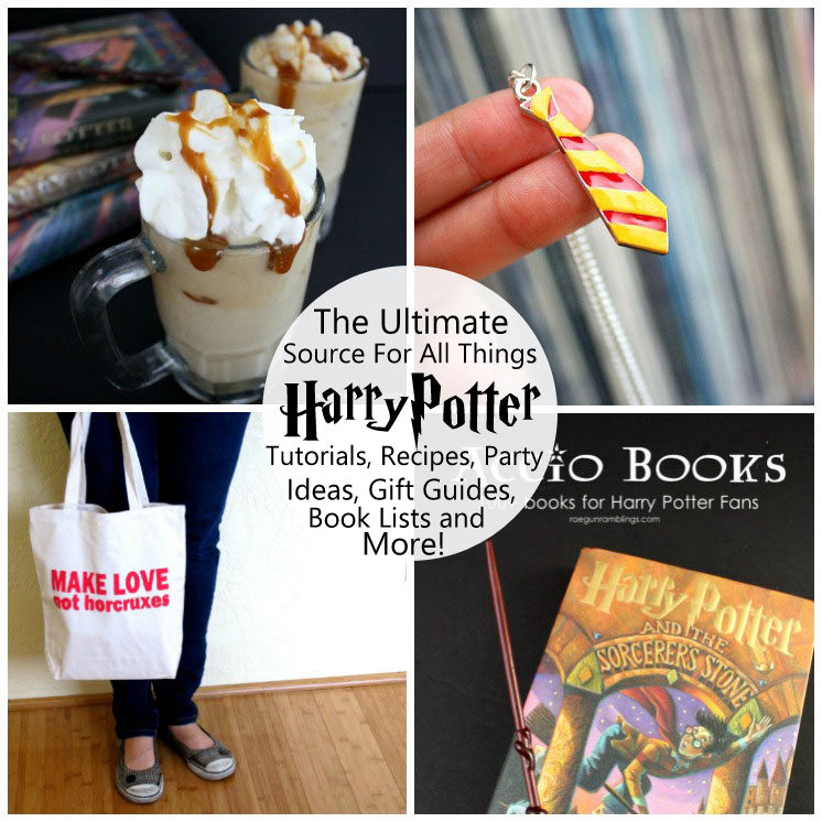 Over 50 awesome harry potter projects rae gun ramblings crafty harry potter awesomeness hundreds of free tutorials sewing patters recipes party solutioingenieria Image collections