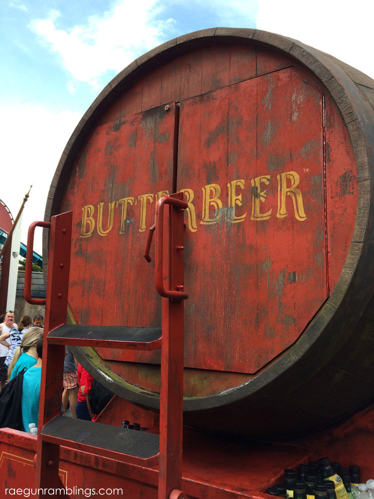 Butterbeer!!! The ice cream is a must at the Wizarding World of Harry Potter tour through pictures