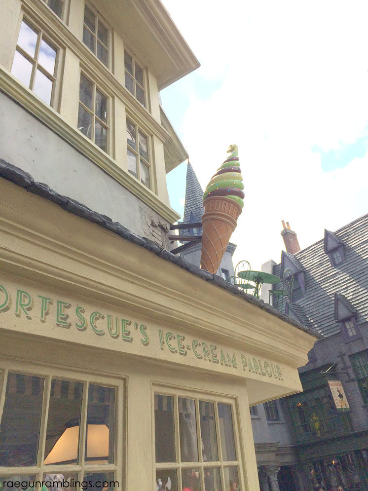 The ice cream is a must Borgin and Burkes at the Wizarding World of Harry Potter tour through pictures