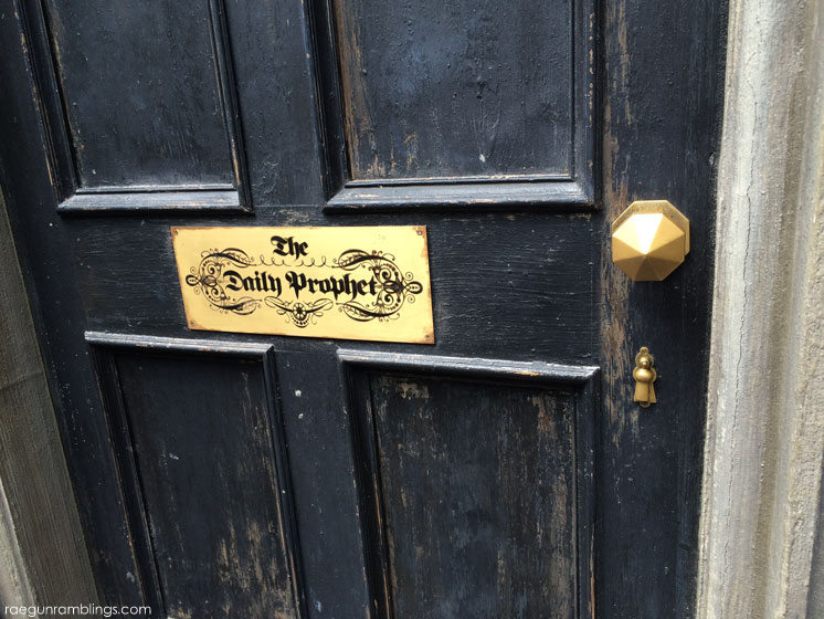 The Daily Prophet plus lots and lots of pictures of vacation at universal studios Wizarding WOrld of Harry POtter