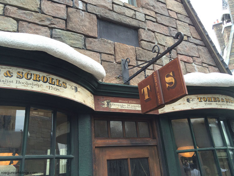 picture tour love the detail of the wizarding world of harry potter