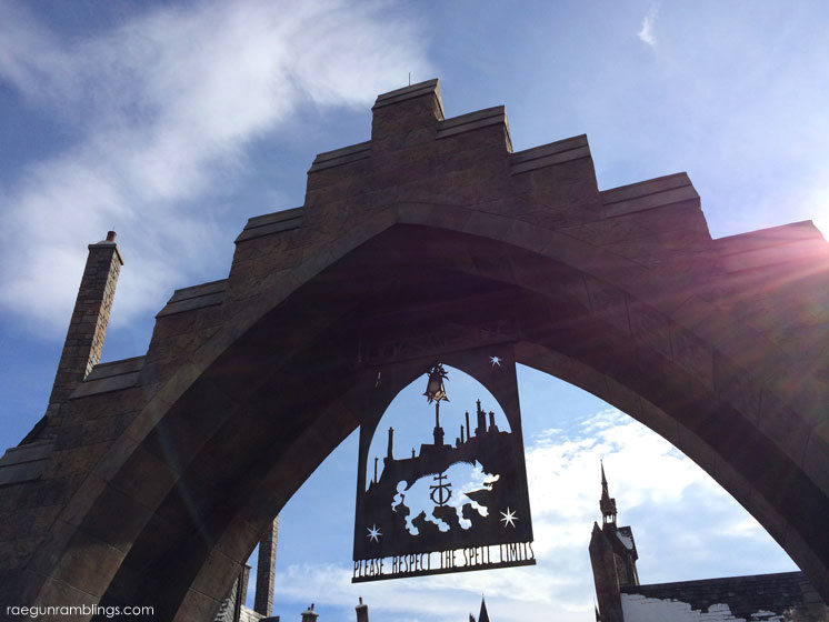 Lots of pictures so you can experience what it's like to walk through the wizarding world of harry potter