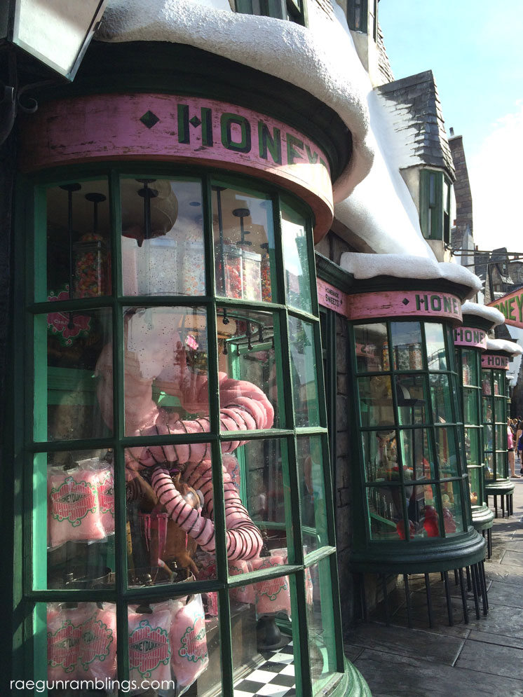 Photo tour of harry potter world
