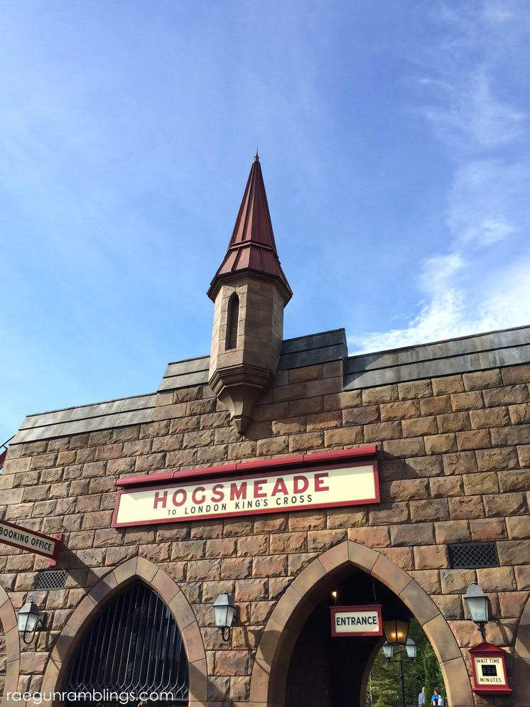 Hogsmeade station Wizard SHop signs plus lots and lots of pictures of vacation at universal studios Wizarding WOrld of Harry POtter