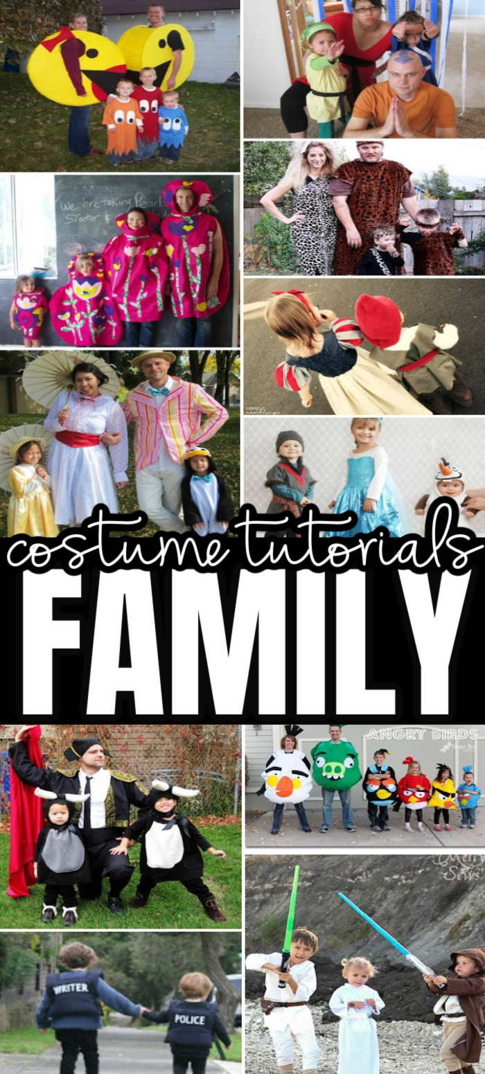 Tons of great costume ideas and tutorials for families and couples.