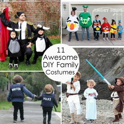 Family Costume Ideas + SOS Sewing Fails