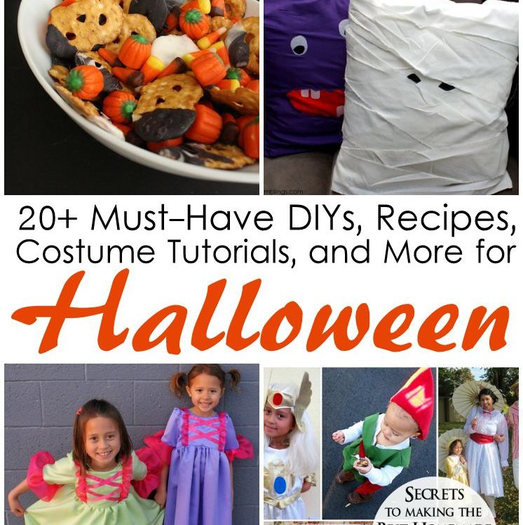 Lots of fabulous DIY crafts, food, recipes, costume tutorials and more perfect for Halloween