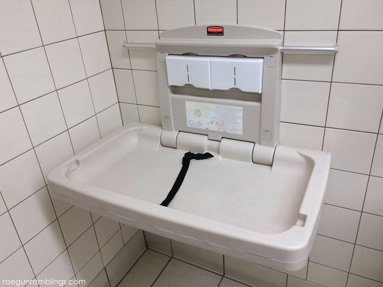 Baby tip and public changing tables