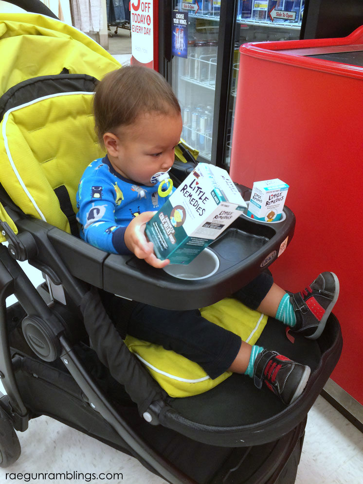 Tricks for how to shop with infants and toddlers