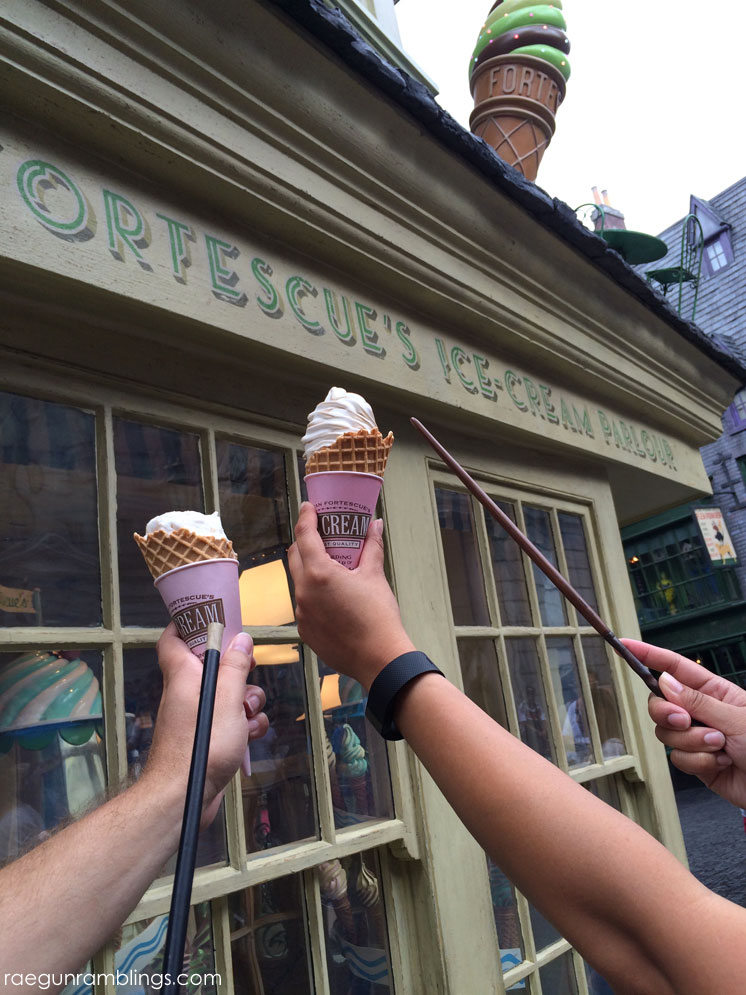 must eat food when vacationing at the wizarding world of harry potter