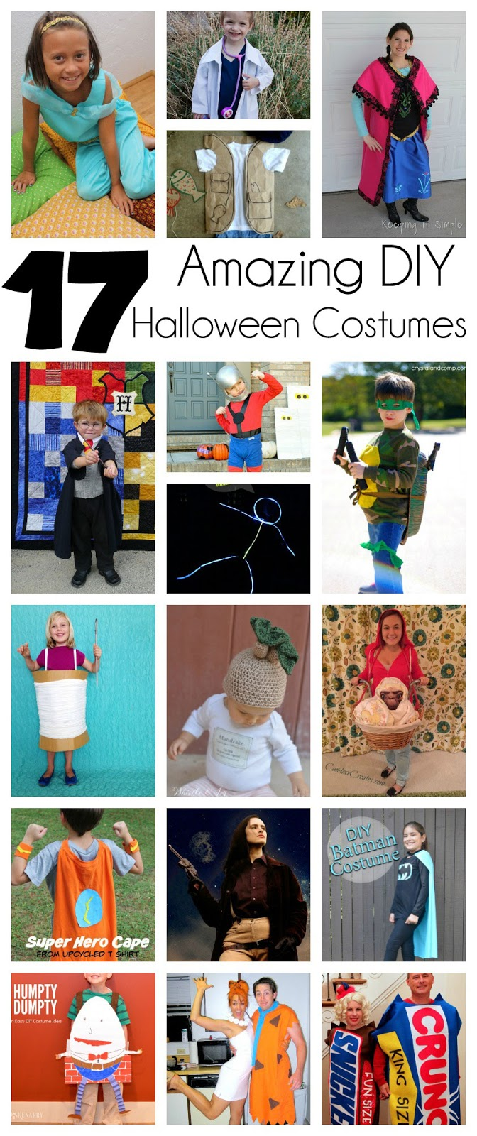 Fabulous DIY costume tutorials