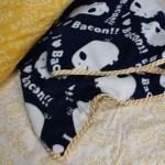 DIY 30 minute easy blanket tutorial