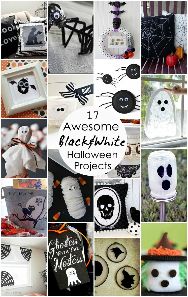 Great easy DIY Halloween crafts, recipes, and decor
