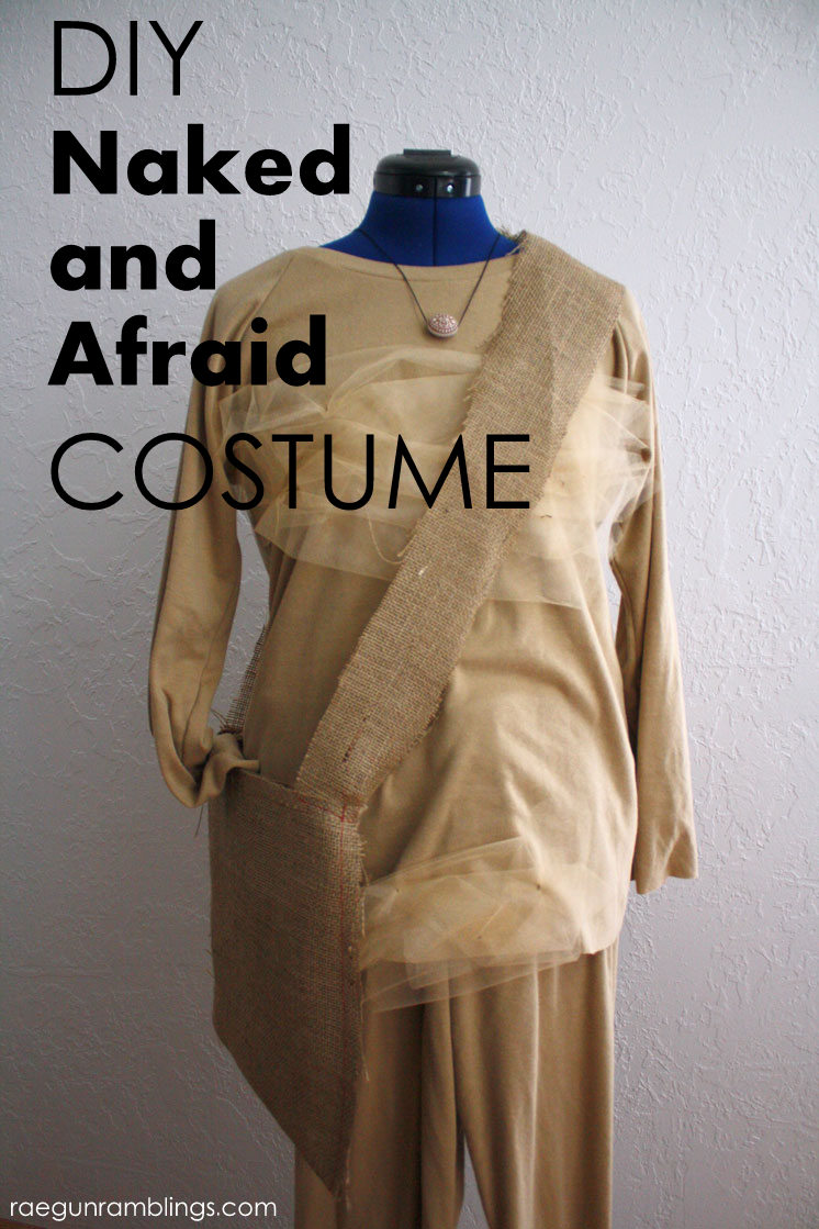 such a funny costume. How to make a Naked and Afraid costume