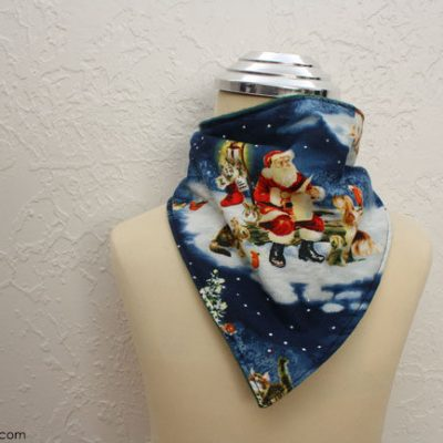 Holiday Handkerchief Scarf for Christmas Wonderful