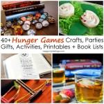 Must see projects, books, parties, recipes, and tutorials for fans of The Hunger Games books and movies