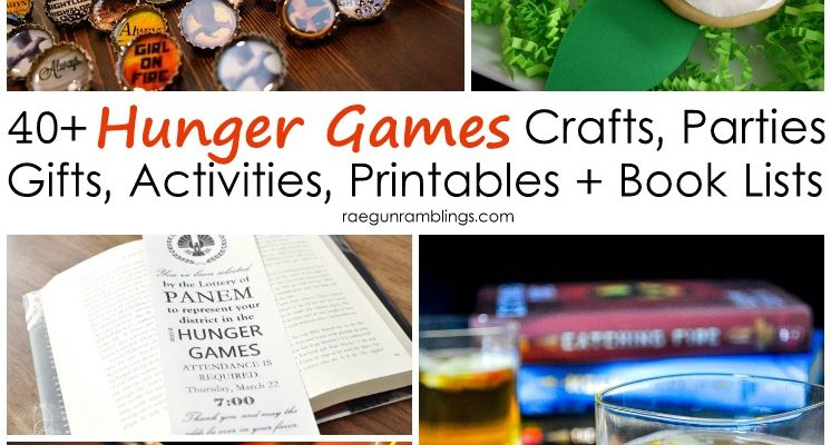 40+ Must See Projects, Parties + Book Lists for Hunger Games Fans