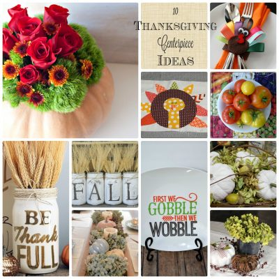 DIY Thanksgiving Centerpiece Ideas and Block Party
