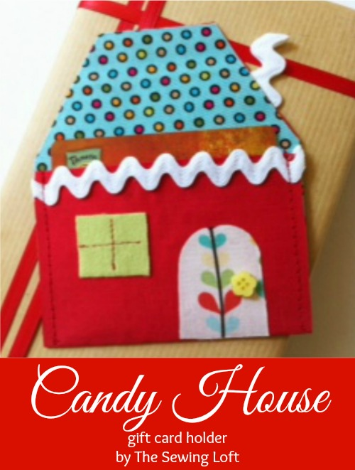 cutest candy house gift card holder. Great diy tutorial
