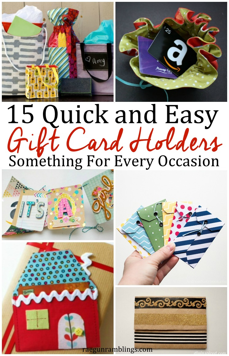 15 diy gift card holders rae gun ramblings awesome easy diy gift card holders for every occasion and recipient negle
