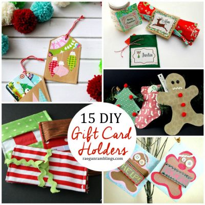 15 DIY Gift Card Holders