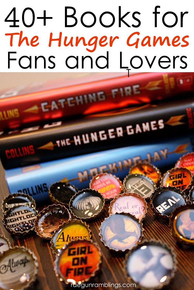 The Hunger Games reading list. So many great books for fans of the Hunger Games books