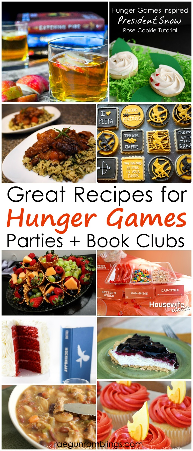 I love it! So many great Hunger Games recipes. Great for parties, book clubs or every day