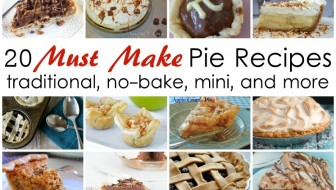 Great list of pie recipes. They all look so good. Perfect for THanksgiving, Christmas, and Pi day