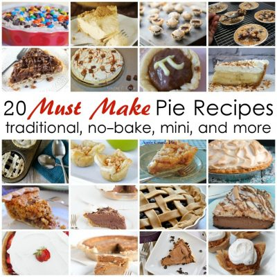 20 Must Make Pie Recipes and Block Party