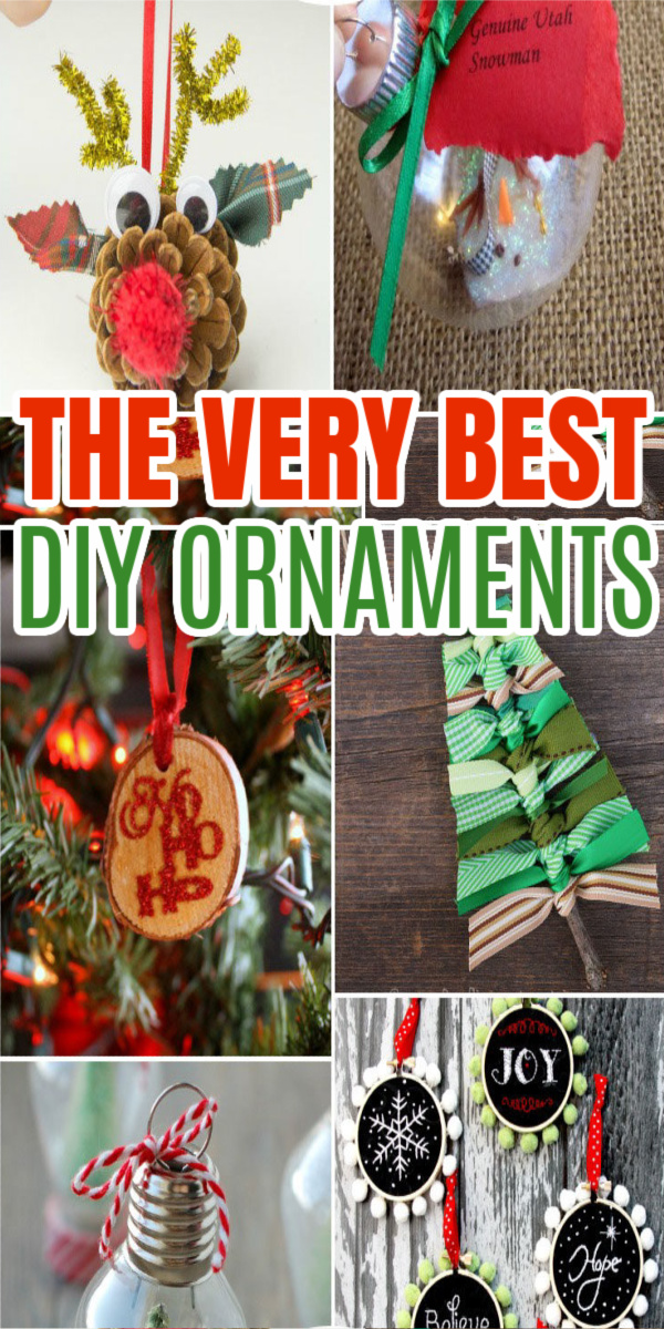 DIY Christmas Ornaments in 30 minutes or less