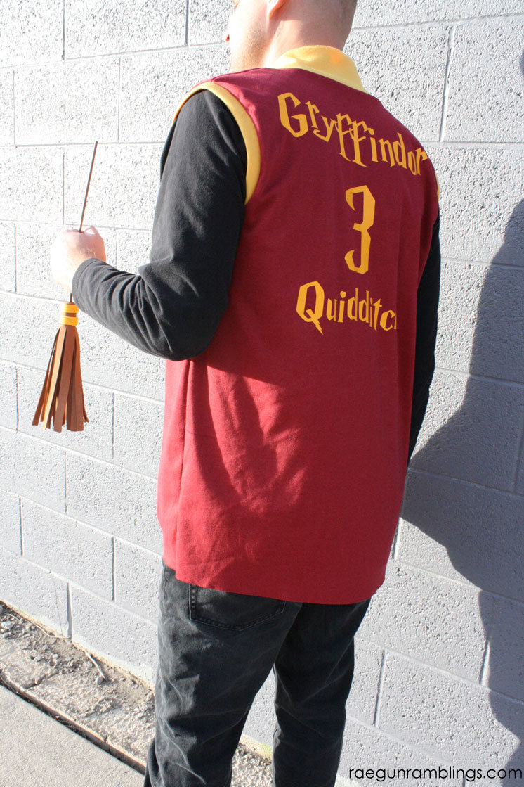 harry potter quidditch jersey
