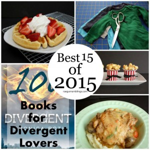 Need to check all of these out. Recipes, diy tutorials, books to read and more