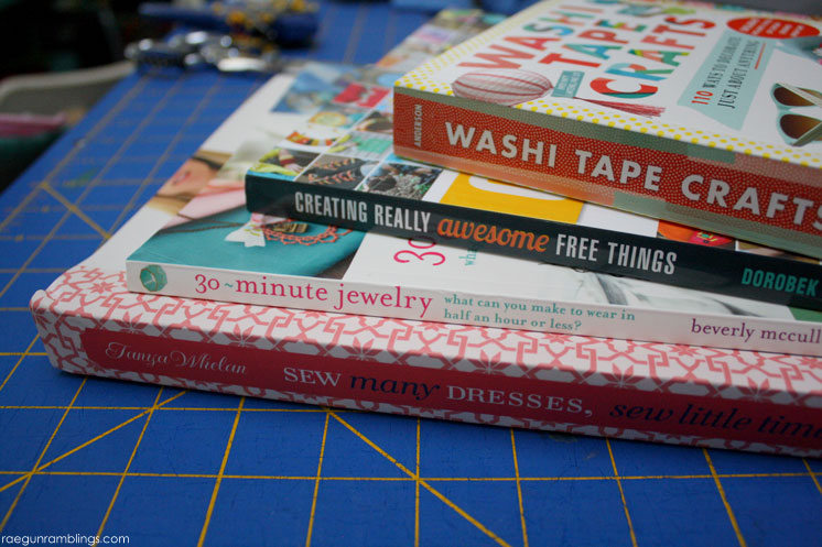 Lots of craft books to check out. THese would make great gifts.