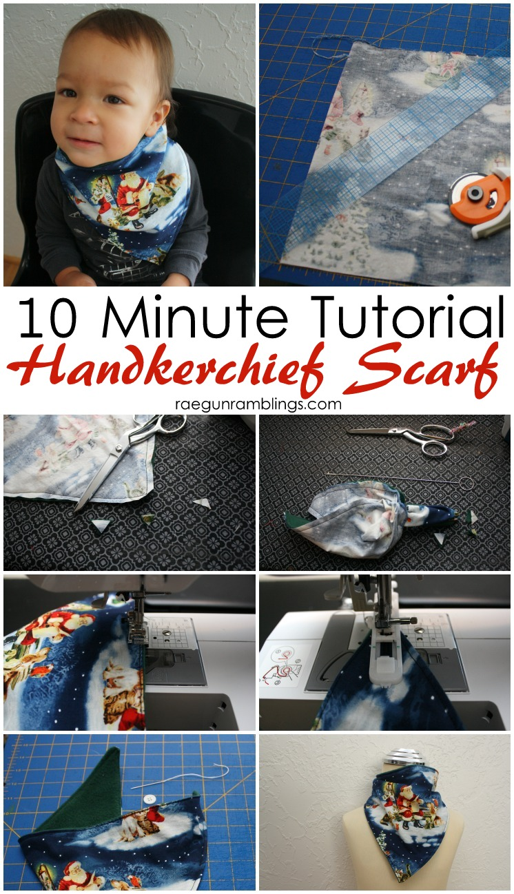 We love these DIY scarves. Easy to make and keeps the toddler warm. Great 10 minute sewing tutorial