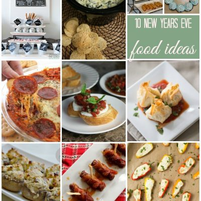 New Years Eve Food Ideas and Block Party