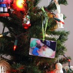 DIY photo ornament. Super cute keepsake picture ornament you can make at home for cheap. Great CHristmas gift tutorial