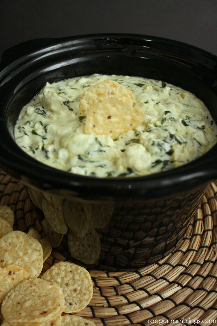 World's Best Spinach Artichoke Dip Recipe - Rae Gun Ramblings