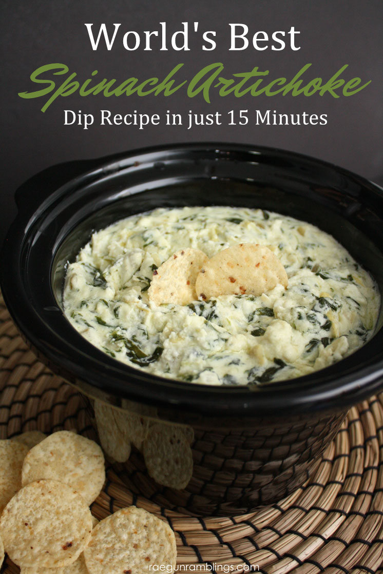 World S Best Spinach Artichoke Dip Recipe