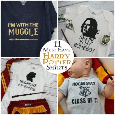 11 Must Have Harry Potter Shirts