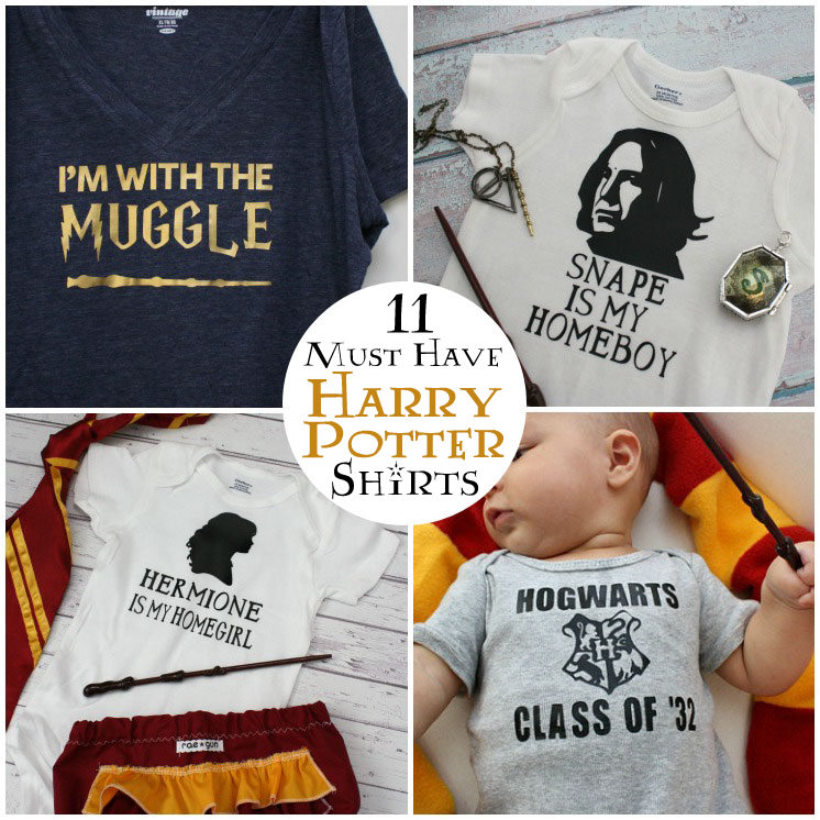 11 unique and awesome harry potter shirts for the whole family