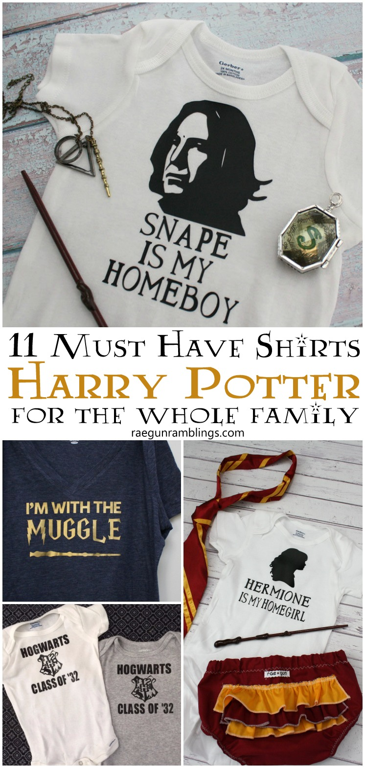 So many great shirts for Harry Potter fans. Adult and baby shirts great for gifts.