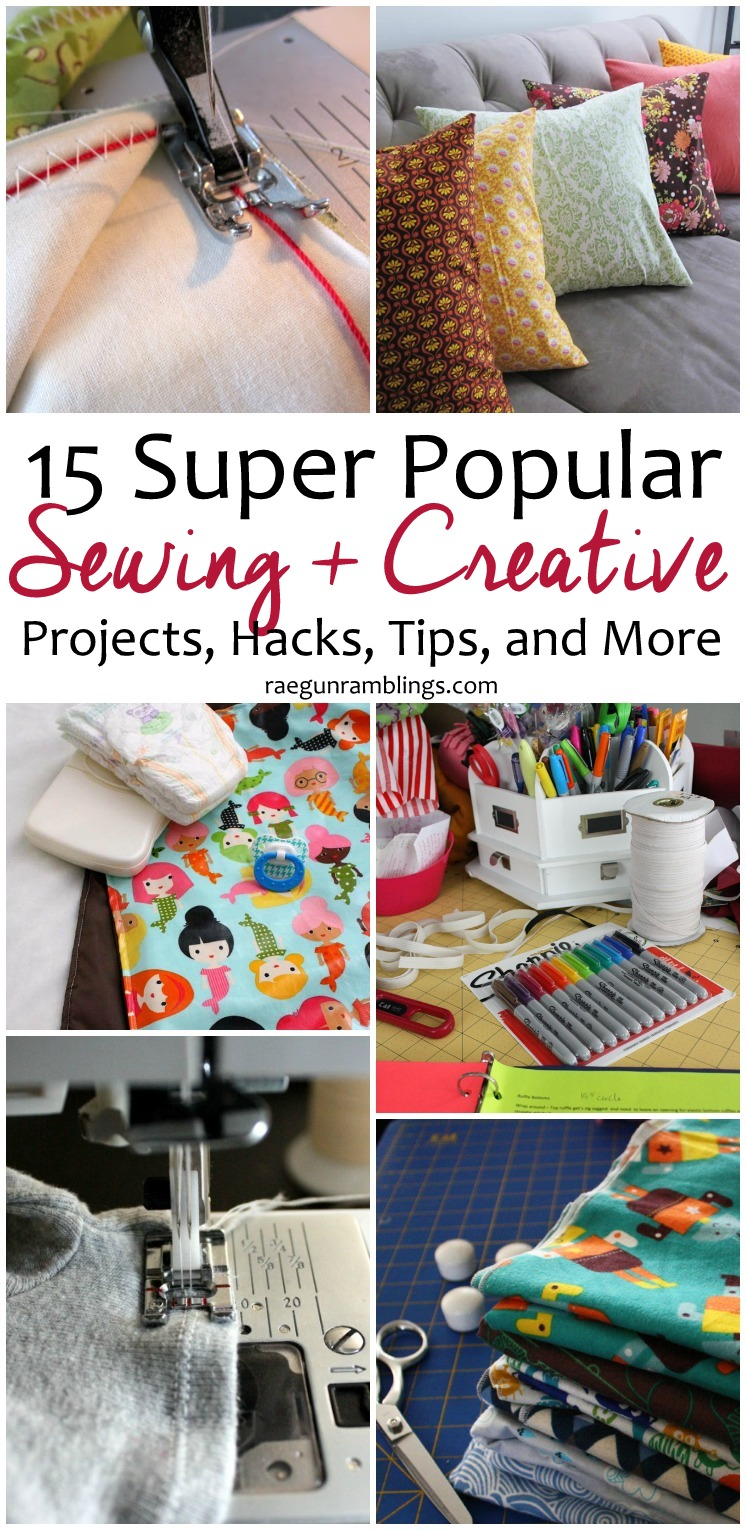 The most popular creative and sewing projects, hacks, tips and more. A must read for all crafters